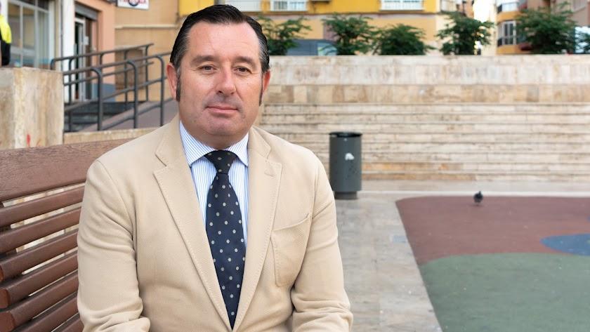 Diego Castaño, portavoz del PSOE en Olula del Río.