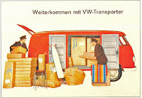 Transporter Skåp röd