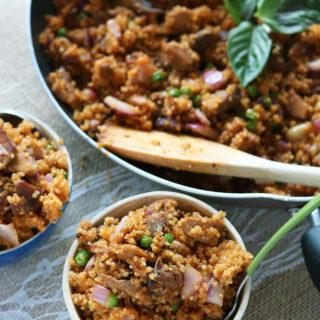 Thai Coconut Curry Not-Fried Quinoa
