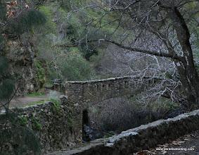 Photo: Old stone bridge at Alum Rock Park, San Jose.