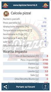 Calcola Pizza - La Pizza che vorrei - - náhled