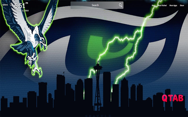 Seattle Seahawks Wallpapers New Tab