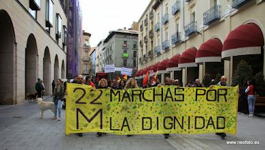 Photo: Marcha de la Dignidad. Huesca. 21.03.2015