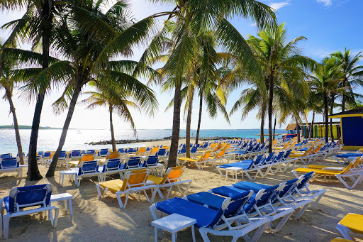 Mariner_CocoCay.jpg - This three-day cruise included a picture-perfect stop at the cruise line's private island of CocoCay, Bahamas. One of our favorite places to relax by the beach.