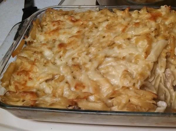 Baked Cheezy Chicken Alfredo Recipe