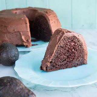 Chocolate Avocado Bundt Cake.