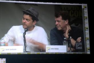 Photo: Sunday - Fringe panel; beloved stars Joshua Jackson and John Noble.
