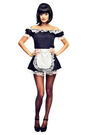 French maid, klänning