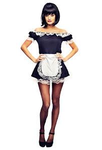 French maid, klänning