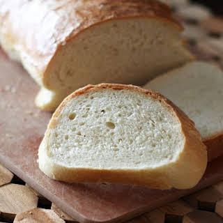 Bread Machine Crusty French Bread.