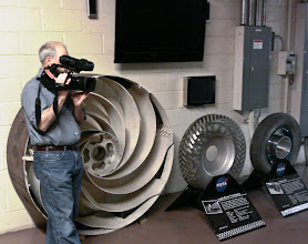 Photo: Rover wheels display outside the SLOPE Facility