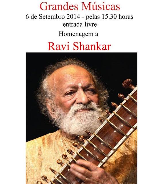 Homenagem a Ravi Shankar no Museu de Lamego a 6 de setembro