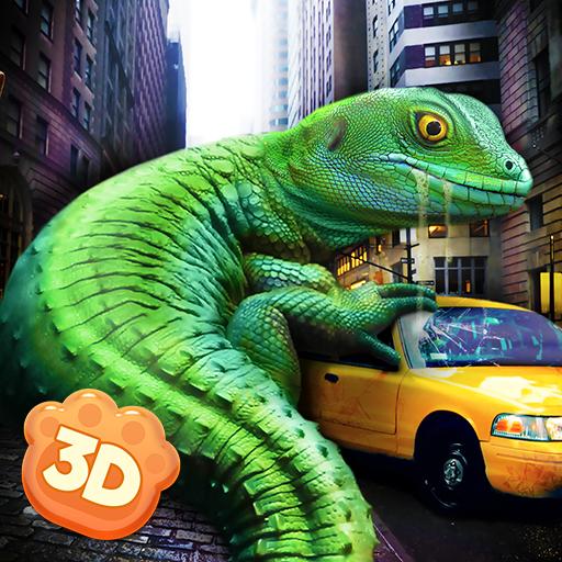 Giant Lizard City Rampage Simulator