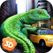 Giant Lizard City Rampage Simulator