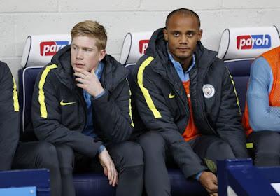 Premier League : De Bruyne et Kompany hors du onze de base de City, Origi confirmé à la pointe des Reds