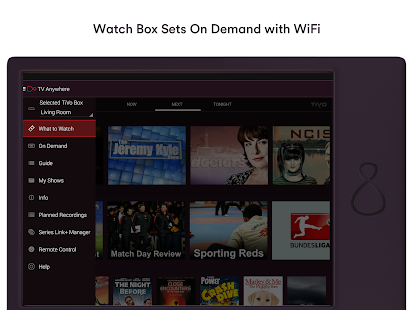 Virgin TV Anywhere– miniatura da captura de ecrã