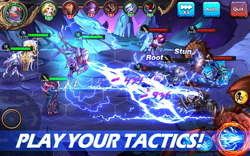 Runelords Arena: Turn-based Tactics Idle Hero RPG apkmr screenshots 14