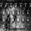 Cool Glossy Black Glass Keyboard icon