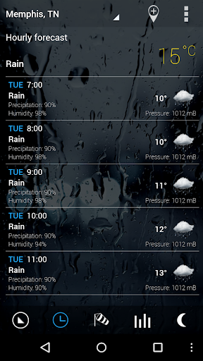 Sense Flip Clock & Weather Pro  screenshots 4