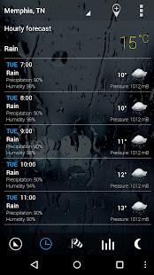 Sense Flip Clock & Weather Pro Screenshot