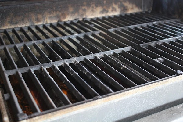 Preheat your grill, gas or coals. You want it HOT so you can sear...
