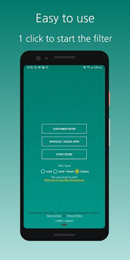 Free Porn Filter / Blocker 0.0.10 screenshots 4