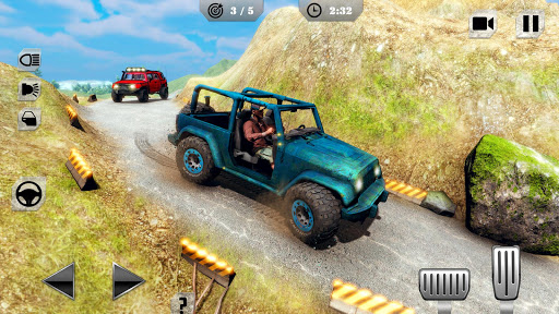 Offroad Jeep Driving & Racing apkpoly screenshots 5