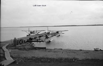 Photo: Lac du Bonnet town dock