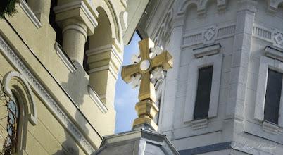"Photo: Catedrala Ortodoxa "" - Sfintii Arhangheli Mihail si Gavril"" - Str. Andrei Saguna, Nr.1 - 2015.10.15 http://ana-maria-catalina.blogspot.ro/2014/06/turda-str-andrei-saguna-linkuri.html"