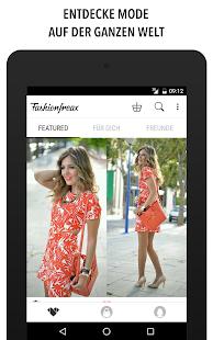 Fashion Freax Street Style App Screenshot
