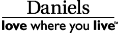 Daniels Corporation - love where you live - logo