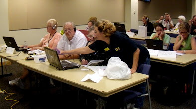 Photo: The boot camp includes hands-on exercises on the students' own computers
