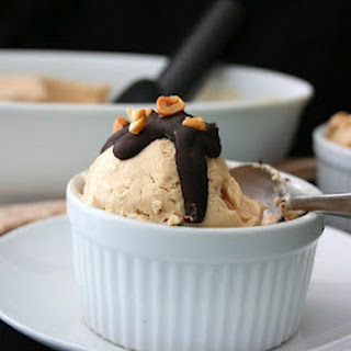 Peanut Butter Ice Cream Sundaes (Low Carb and Gluten-Free).