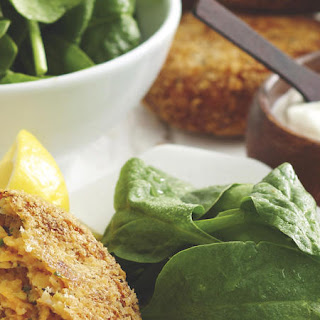 Sweet Potato and Red Lentil Patties.