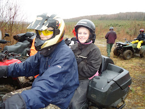 Photo: Sat, May 14/11 SBC ATV Day - Tanner and Jennifer are enjoying the trip
