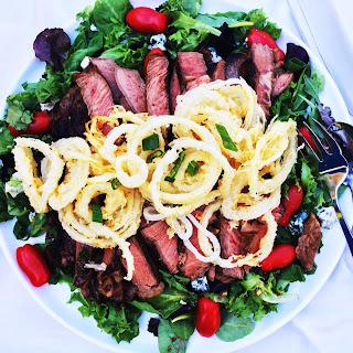 Pioneer Woman Big Steak Salad.