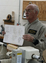 Photo: Jim sells detailed plans if you would like to make one. There are a lot of small, important details, so these plans are a big help.