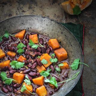 Red Kidney Bean and Pumpkin Stew Recipe