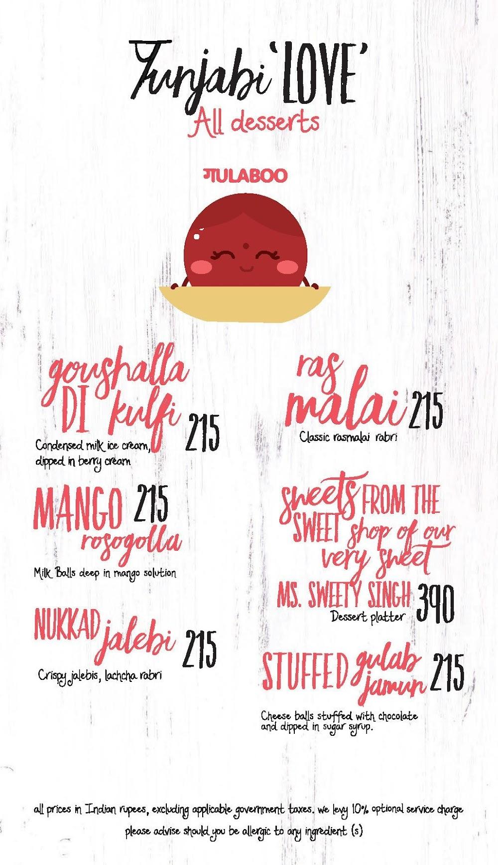 Made In  Punjab menu 7