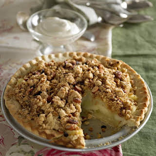 Apple Crumble Pie.