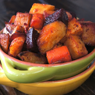 Smoky Cumin Roasted Root Vegetable