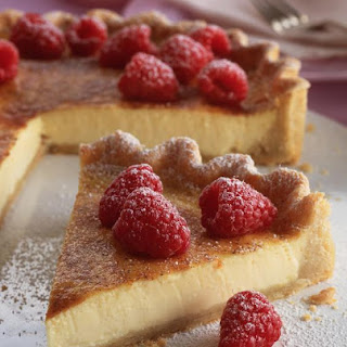 Honey and Crème Fraîche Tart