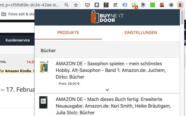 Buy Next Door - Online Shopping Assistant