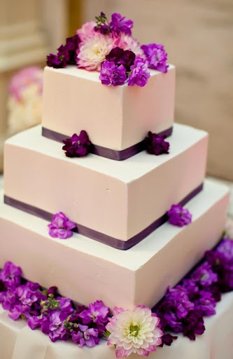 結婚式のためのケーキ