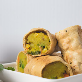 Crispy Papad Rolls