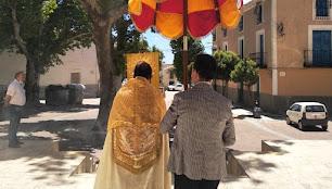 La pasada celebración del Corpus en Oria.