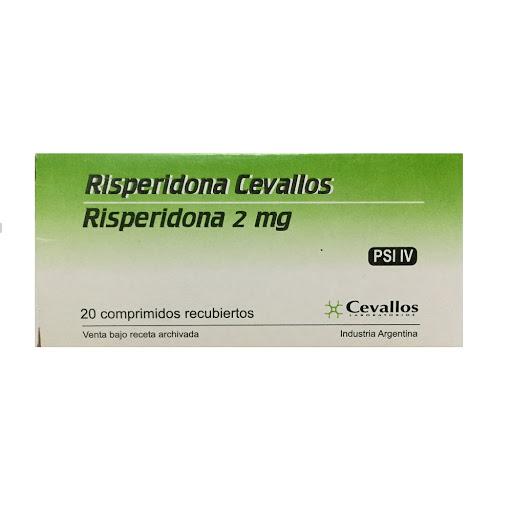 risperidona 2mg 20 comp cevallos
