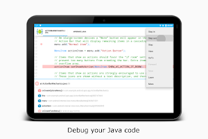 Screenshot of AIDE- IDE for Android Java C++