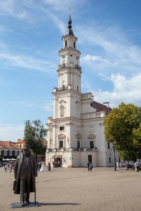 Kowno, Plac Ratuszowy, Stare Miasto