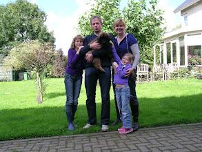 Photo: allemaal in kleur, want ik was pupje lila!! Ik ga wonen bij Wendy, Gerben en de meiden in Westerbork